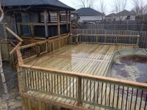 pool deck copy
